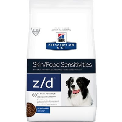 Hill's® Prescription Diet® z/d® Canine Skin/Food Sensitivities - Dry