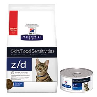 Hill's® Prescription Diet® z/d® Feline Skin/Food Sensitivities - Dry