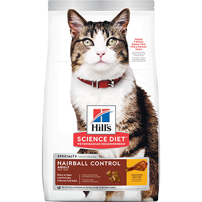Hill's® Science Diet® Adult Hairball Control Feline - Dry