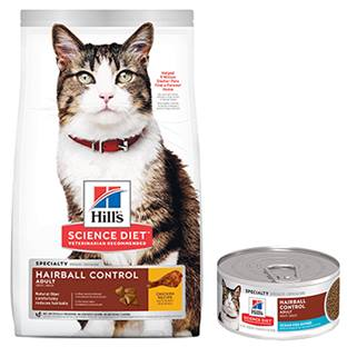 Hill's® Science Diet® Adult Hairball Control Ocean Fish Entrée Feline - Canned