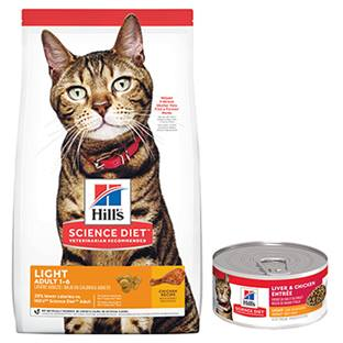 Hill's® Science Diet® Adult Light Feline - Dry