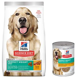 Hill's® Science Diet® Adult Perfect Weight Chicken & Vegetable Entrée Canine - Canned