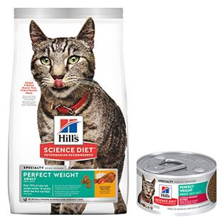 Hill's® Science Diet® Adult Perfect Weight Liver & Chicken Entrée Feline - Canned