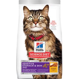 Hill's® Science Diet® Adult Sensitive Stomach & Skin - Cat Food