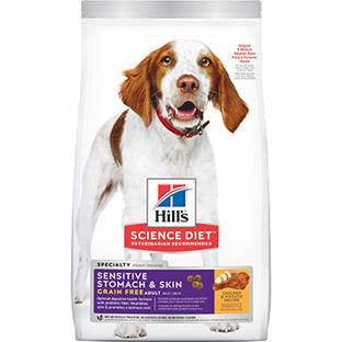 Hill's® Science Diet® Adult Sensitive Stomach & Skin Grain Free - Dog Food