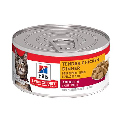 Hill's® Science Diet® Adult Tender Chicken Dinner Feline - Canned