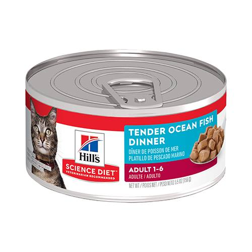 Hill's® Science Diet® Adult Tender Ocean Fish Dinner Feline - Canned