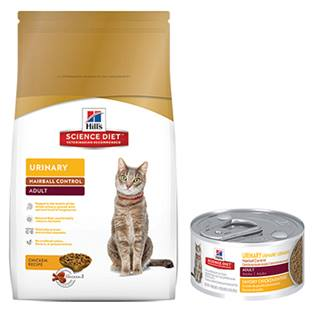 Hill's® Science Diet® Adult Urinary Hairball Control - Cat Food