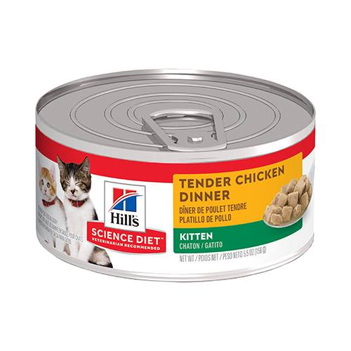 Hill's® Science Diet® Kitten Tender Chicken Dinner Feline - Canned