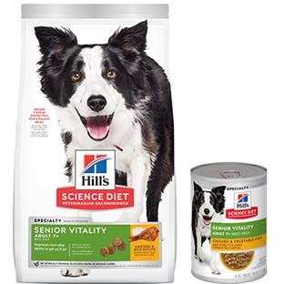 Hill's® Science Diet® Youthful Vitality Adult 7+ Chicken & Rice Recipe Dog Food - Dry