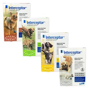 Interceptor® Flavor Tabs®