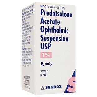 Prednisolone Acetate Ophthalmic Suspension