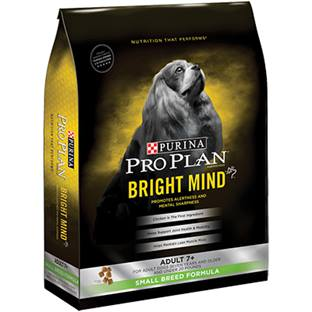 Purina® Pro Plan® Bright Mind™ Adult 7+ Small Breed Chicken & Rice Formula