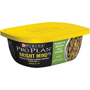 Purina® Pro Plan® Bright Mind™ Adult 7+ Turkey & Brown Rice Entrée