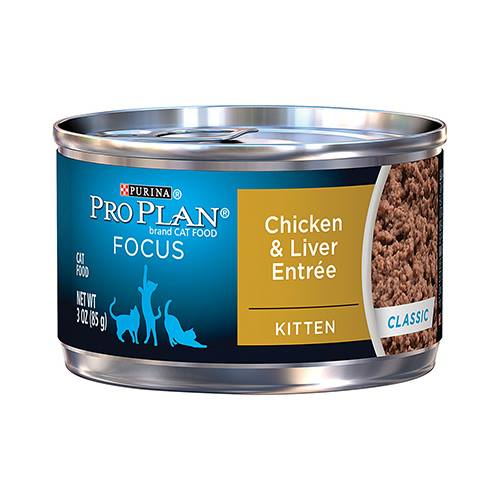 Purina® Pro Plan® Focus Kitten Chicken & Liver Entrée Classic