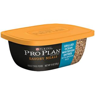 Purina® Pro Plan® Savor® Grilled Whitefish Entrée with Brown Rice Tub