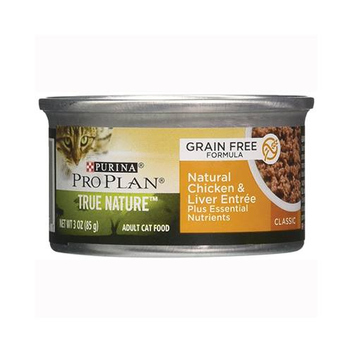 Purina® Pro Plan® True Nature™ Adult Feline Natural Chicken & Liver Entrée