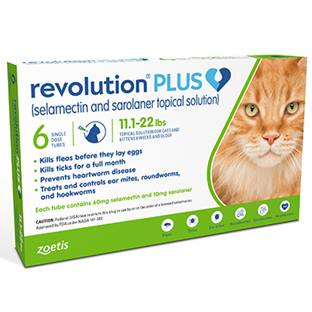 Revolution® PLUS Feline Topical Solution