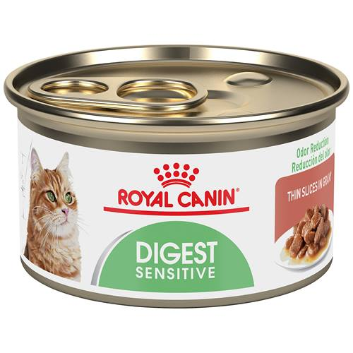 ROYAL CANIN® FELINE CARE NUTRITION™ Digest Sensitive thin slices in gravy canned cat food