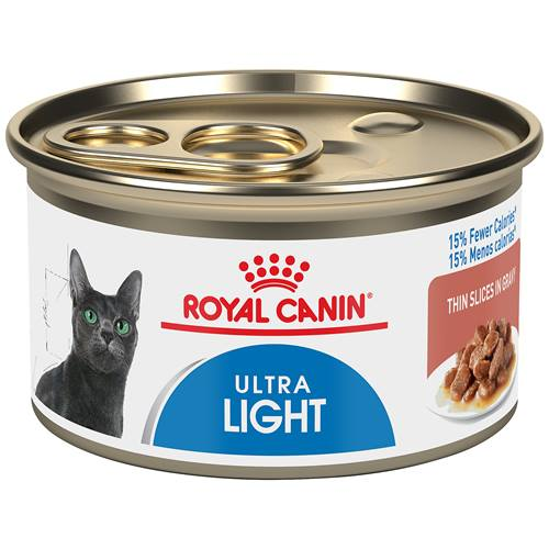 ROYAL CANIN® FELINE CARE NUTRITION™ Ultra Light thin slices in gravy canned cat food