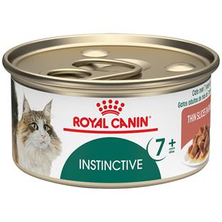 ROYAL CANIN® FELINE HEALTH NUTRITION™ Instinctive 7+ thin slices in gravy canned cat food