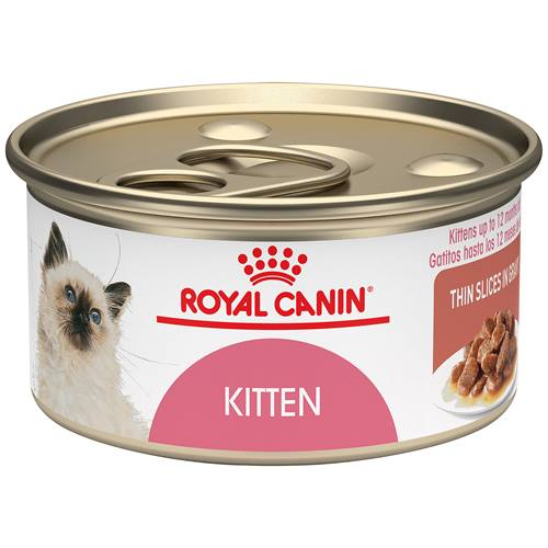 ROYAL CANIN® Feline Health Nutrition™ Thin Slices in Gravy Wet Kitten Food