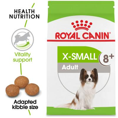 ROYAL CANIN® SIZE HEALTH NUTRITION X-Small Adult 8+ Dry Dog Food