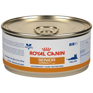 ROYAL CANIN® VETERINARY CARE NUTRITION™ Feline Senior Consult in gel canned cat food
