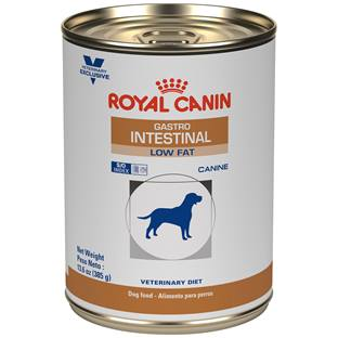 ROYAL CANIN VETERINARY DIET® Canine Gastrointestinal Low Fat in gel canned dog food