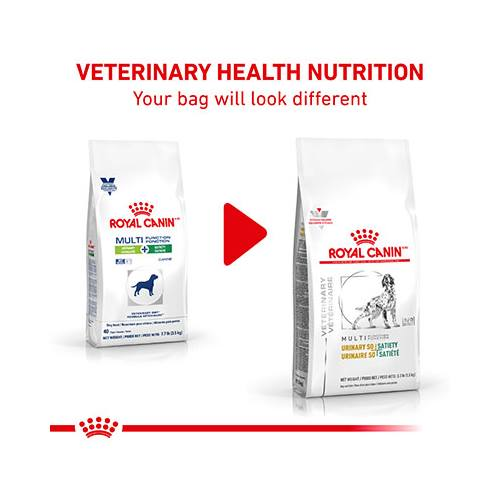 ROYAL CANIN VETERINARY DIET® Canine MULTIFUNCTION URINARY + SATIETY dry dog food