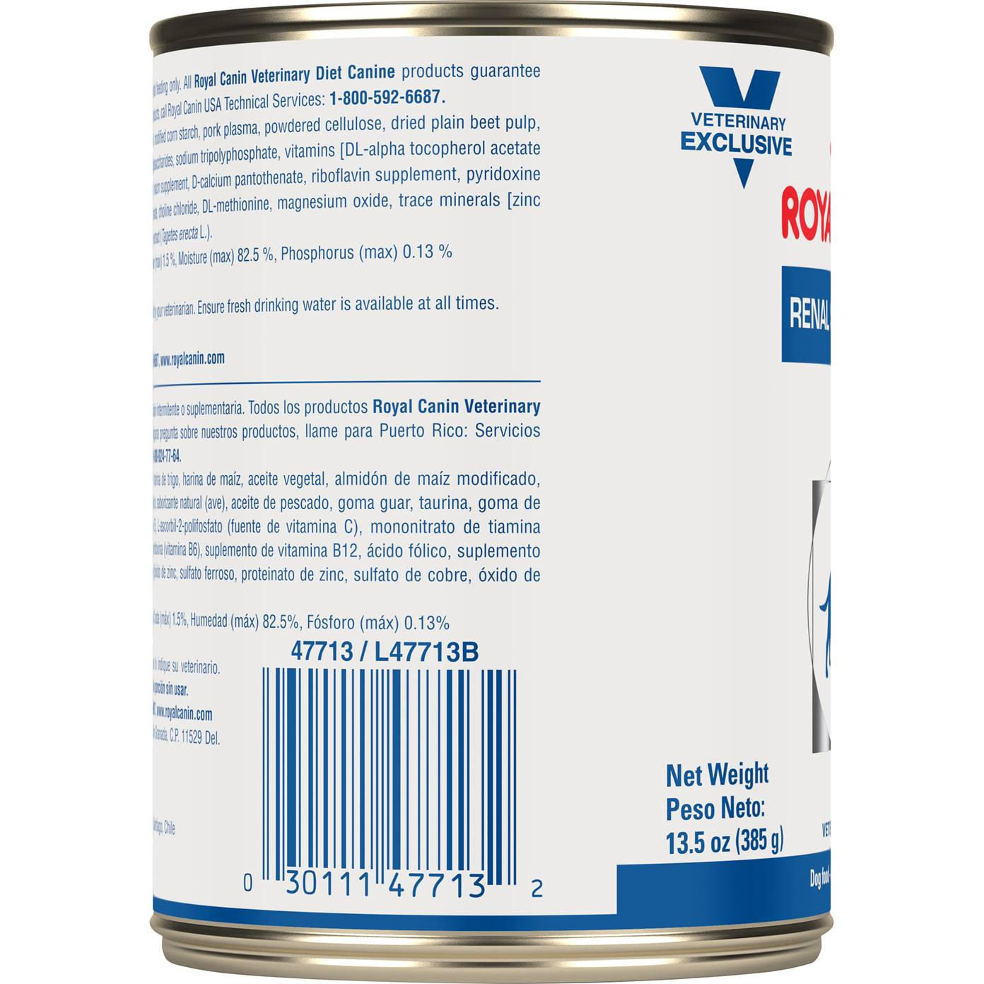 Royal Canin Veterinary Diet 174 Canine Renal Support D