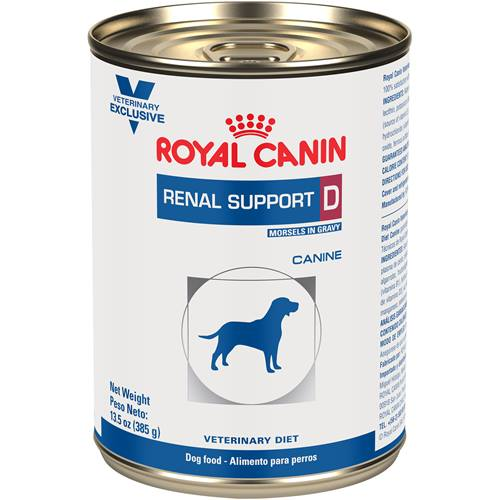 ROYAL CANIN VETERINARY DIET® Canine RENAL SUPPORT D™ morsels in gravy canned dog food