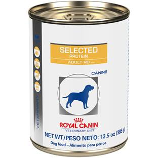 ROYAL CANIN VETERINARY DIET® Canine Selected Protein Adult PD in gel canned dog food