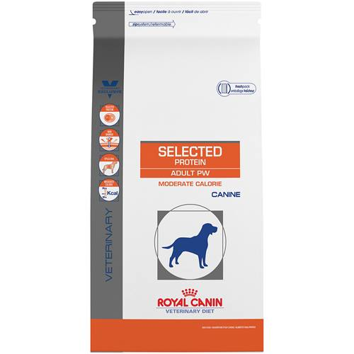 ROYAL CANIN VETERINARY DIET® Canine Selected Protein Adult PW Moderate Calorie dry dog food