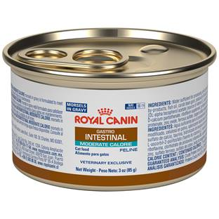 ROYAL CANIN VETERINARY DIET® Feline Gastrointestinal Moderate Calorie Morsels in Gravy canned cat food