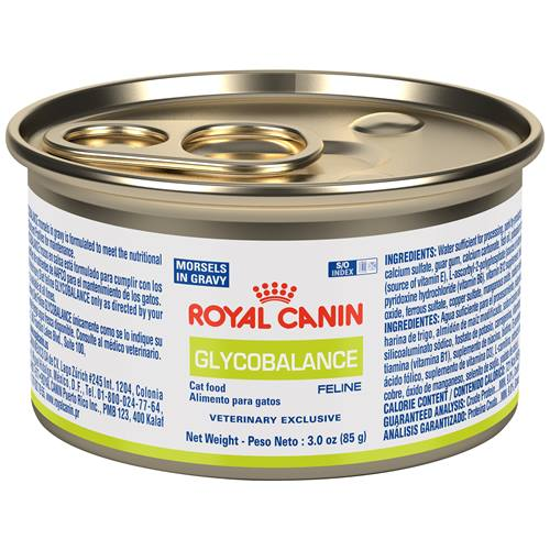 ROYAL CANIN VETERINARY DIET® Feline GLYCOBALANCE™Morsels in Gravy canned cat food