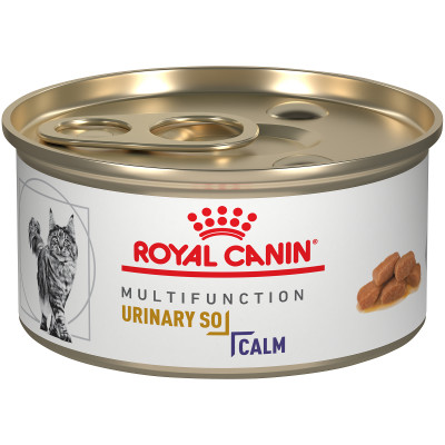 ROYAL CANIN VETERINARY DIET® Feline MULTIFUNCTION URINARY + CALM  morsels in gravy canned cat food