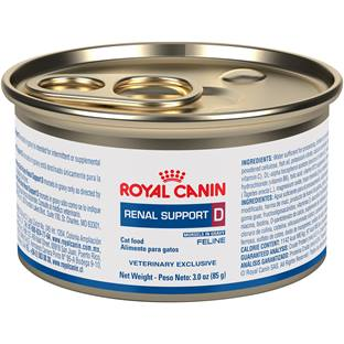 ROYAL CANIN VETERINARY DIET® Feline RENAL SUPPORT D™ morsels in gravy canned cat food