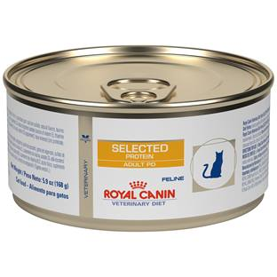 ROYAL CANIN VETERINARY DIET® Feline Selected Protein Adult PD in Gel canned cat food