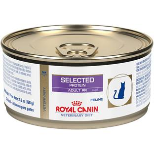 ROYAL CANIN VETERINARY DIET® Feline Selected Protein Adult PR in Gel canned cat food