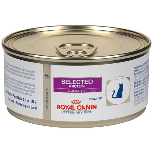 ROYAL CANIN VETERINARY DIET® Feline Selected Protein Adult PV in Gel canned cat food