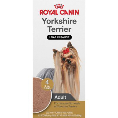 ROYAL CANIN® BREED HEALTH NUTRITION® Yorkshire Terrier Loaf in Sauce Breed Specific dog food