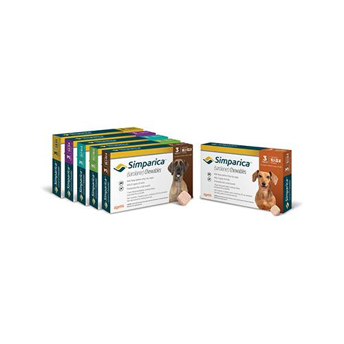 Simparica™ Chewables for dogs