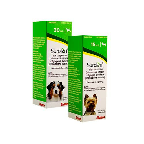 Surolan® Otic Suspension