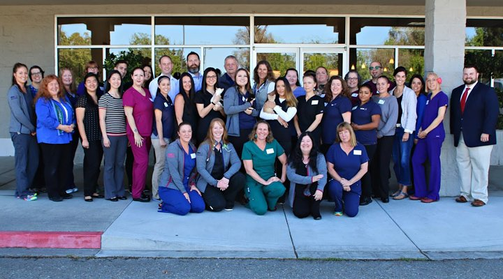 Homepage Team Picture of VCA Sonoma County Animal Hospital