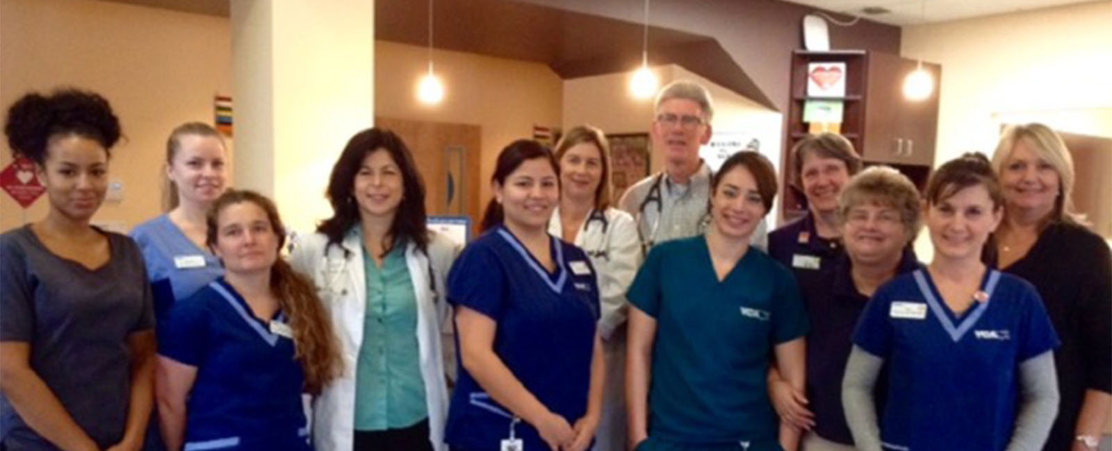 Homepage Team Picture of VCA South County Animal Hospital