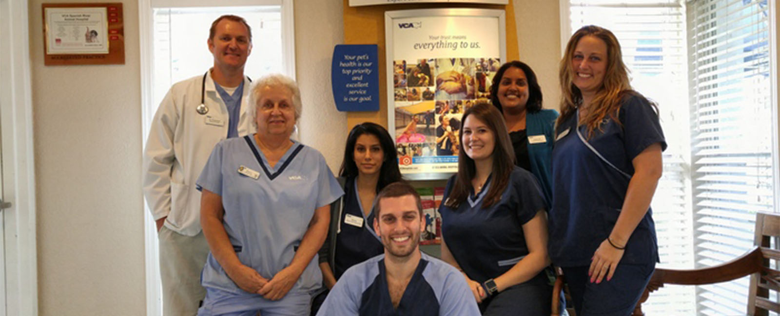 Homepage Team Picture of VCA Spanish River Animal Hospital