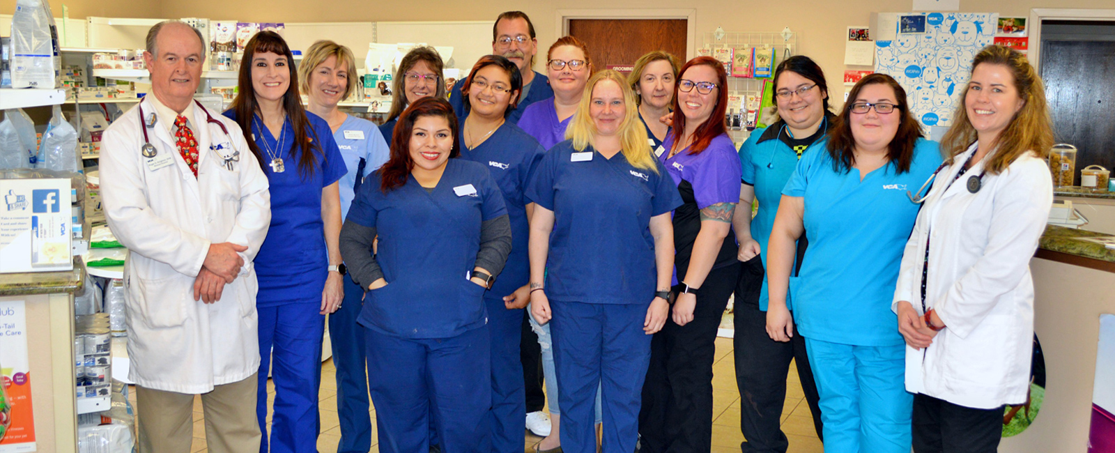 Team Picture of VCA Spring Mountain Animal Hospital