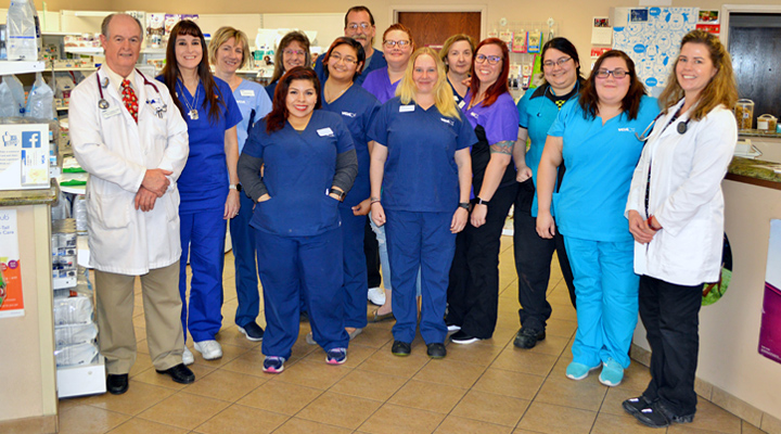 Homepage Team Picture of VCA Sprig Mountain Animal Hospital
