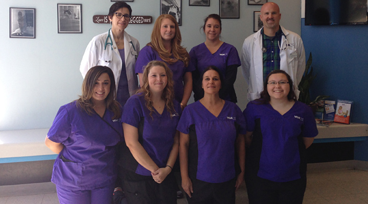 Hospital Team Picture of VCA St Clair Shores Animal Hospital